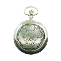 Picture of English Rose Mechanical Pocket Watch