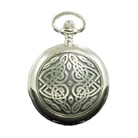 Picture of Celtic Design Mechanical Pocket Watch