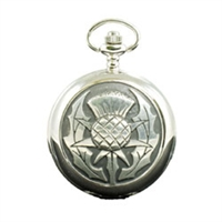 Picture of Scottish Thistle Mechanial Pocket Watch