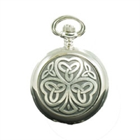 Picture of Irish Shamrock Mechanical Pocket Watch