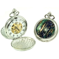 Picture of Scottish Heathergem Mechanical Pocket Watch