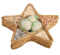 Picture of Bird Seed Basket - Star