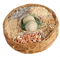 Picture of Bird Seed Basket - Round