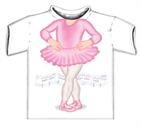 Picture of Ballerina Just Add A Kid T-Shirt