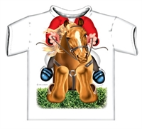 Picture of Horse Jumper Just Add A Kid T-Shirt